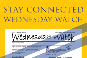 Wednesday Watch