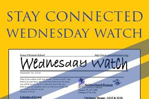 Wednesday Watch